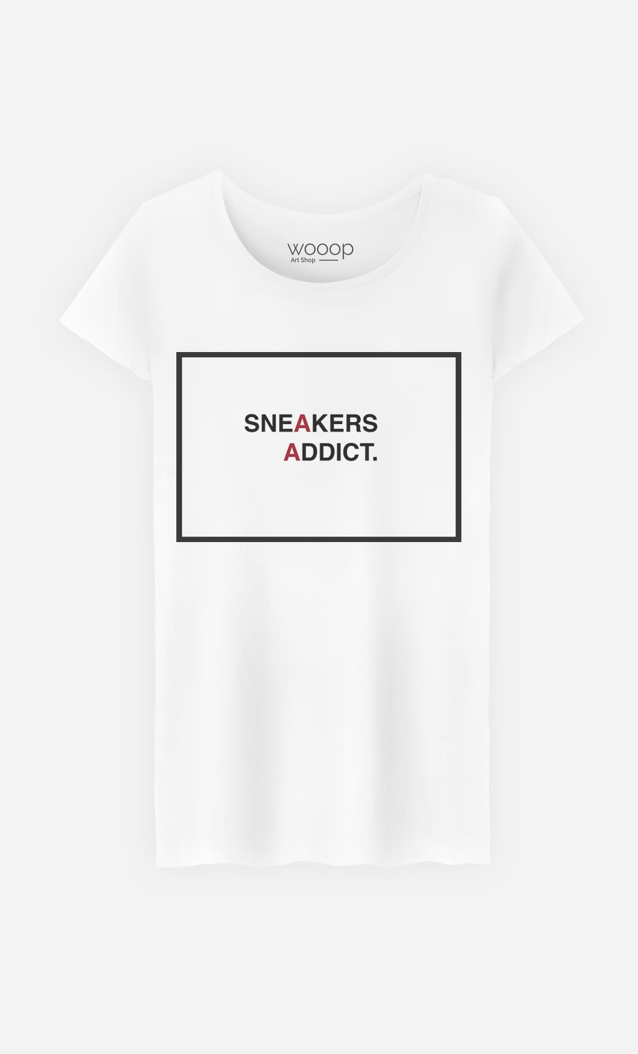T-Shirt Femme Sneakers Addict