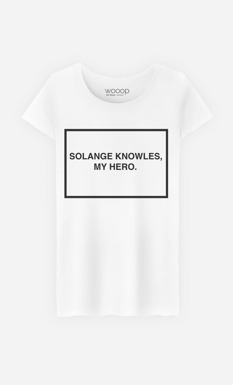 T-Shirt Femme Solange Knowles