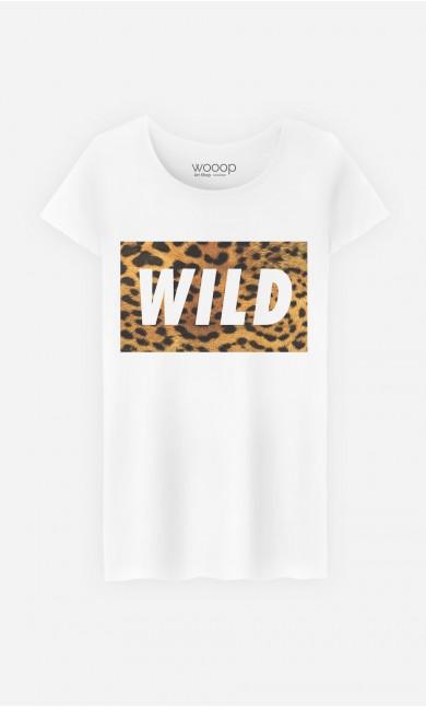 T-Shirt Femme Wild