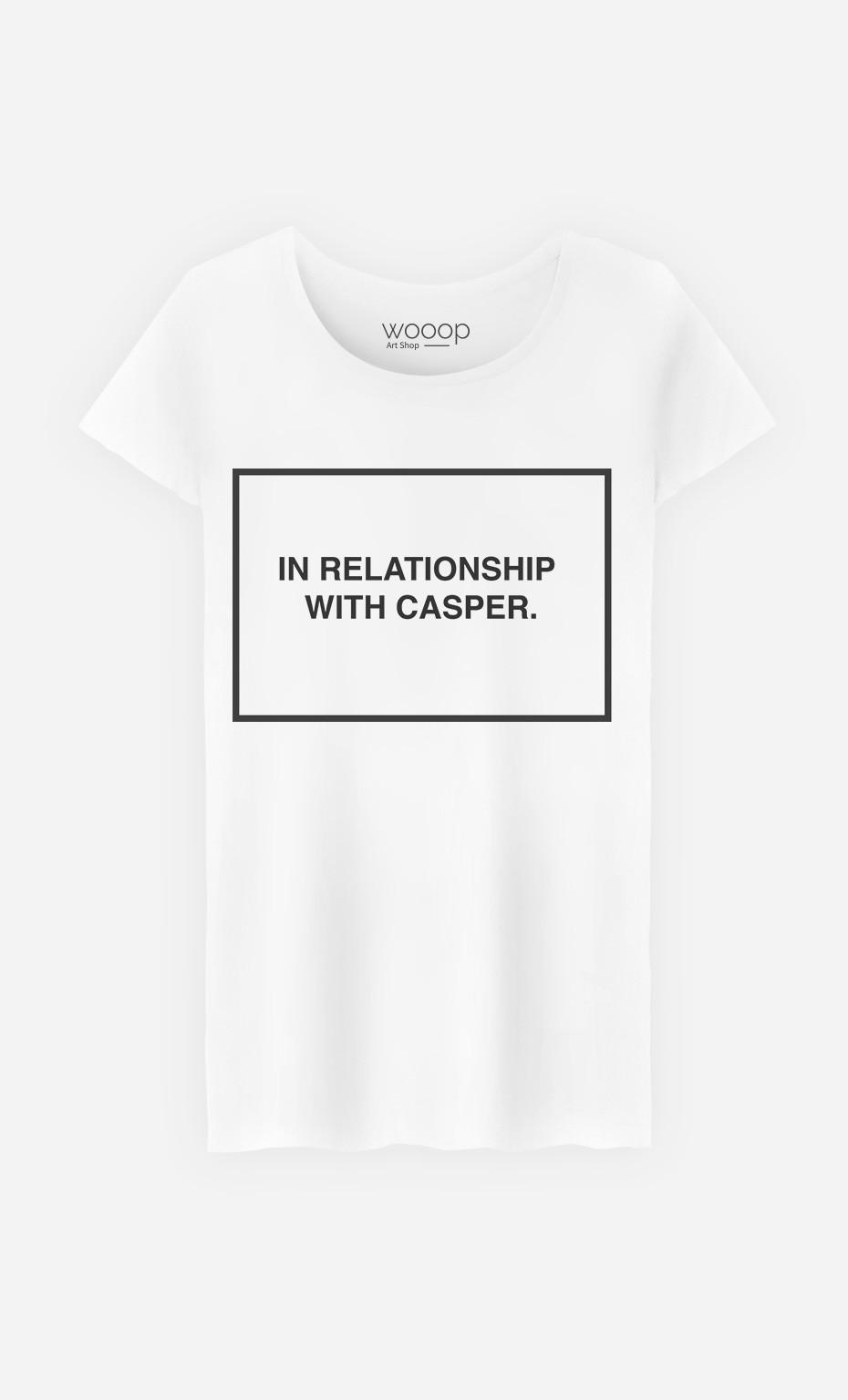 T-Shirt Femme With Casper