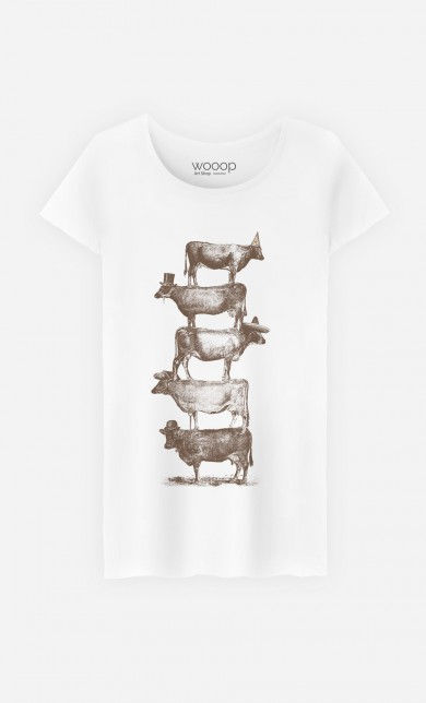 T-Shirt Cow Cow Nuts