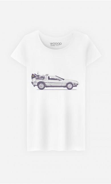 T-Shirt Femme Delorean