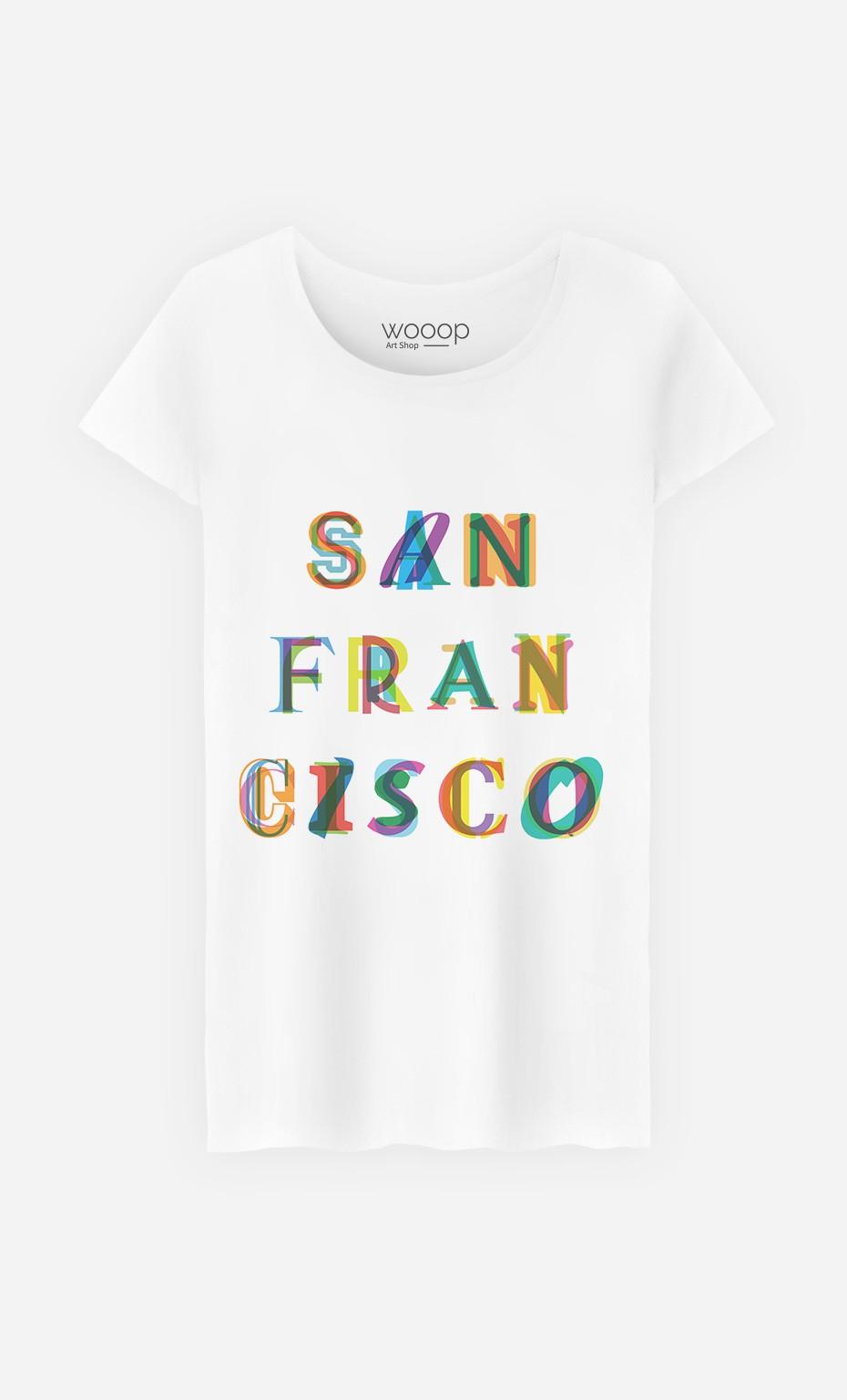 T-Shirt Femme San Francisco