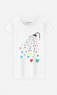 T-Shirt Femme Love Shower