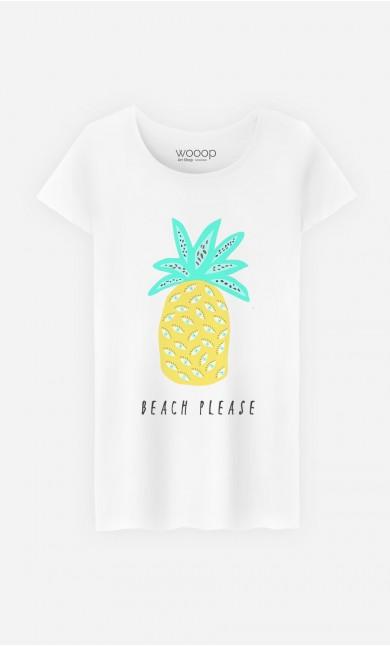 T-Shirt Femme Beach Please