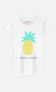 T-Shirt Femme Beach Please