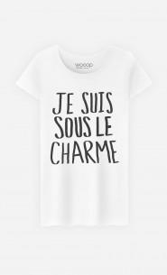 T-Shirt Femme Tendance Sous Le Charme