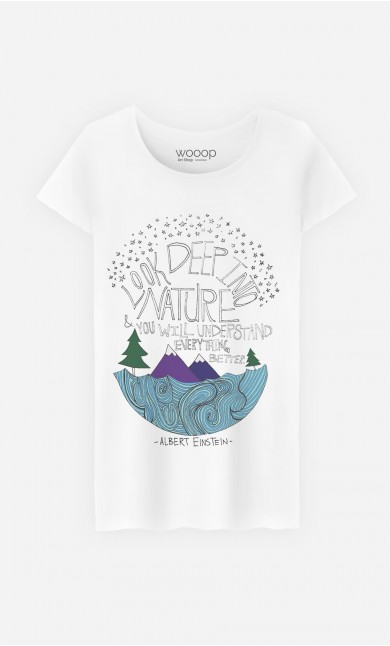 T-Shirt Femme Deep Into Nature