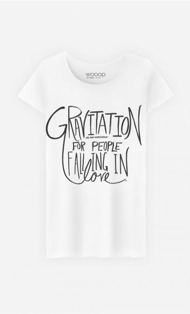 T-Shirt Femme Gravitation