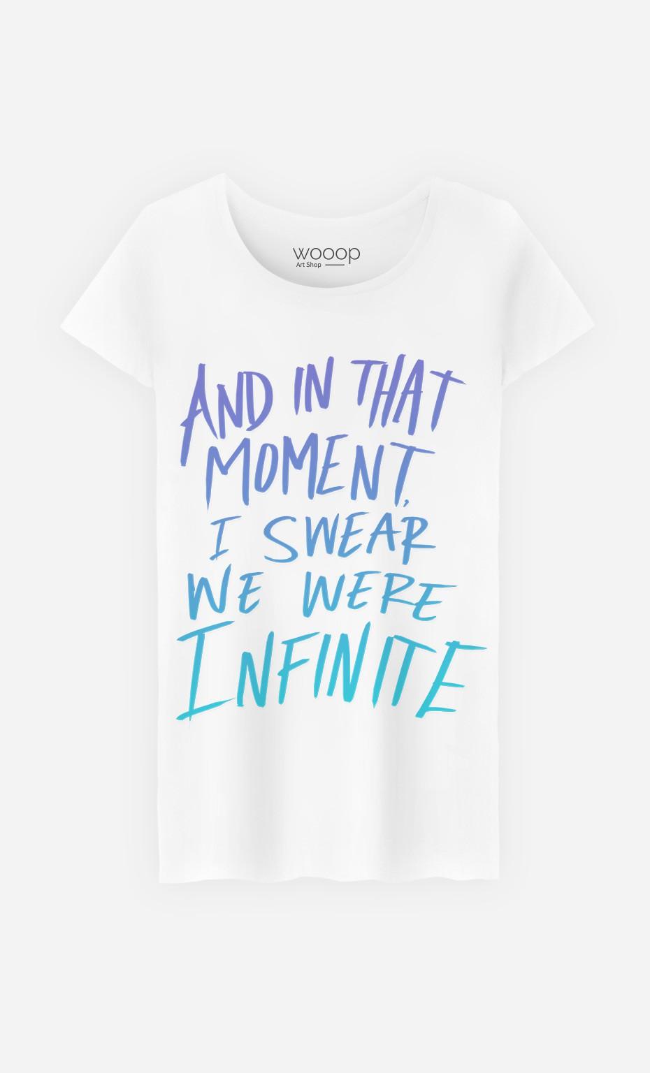 T-Shirt Femme We Were Infinite
