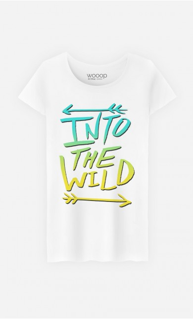 T-Shirt Femme Into The Wild