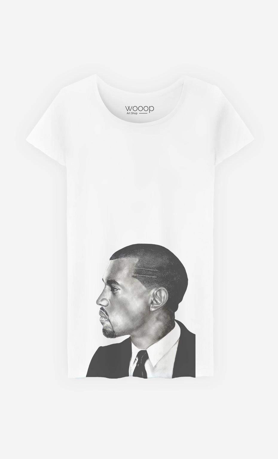 T-Shirt Femme Kanye West