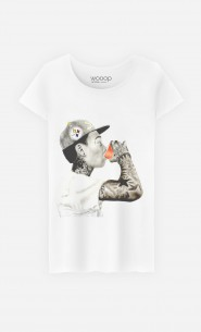 T-Shirt Femme Wiz Khalifa Red Cup
