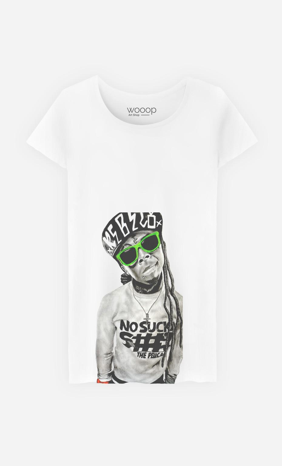 T-Shirt Femme Lil Wayne