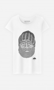 T-Shirt Femme Beanie Man
