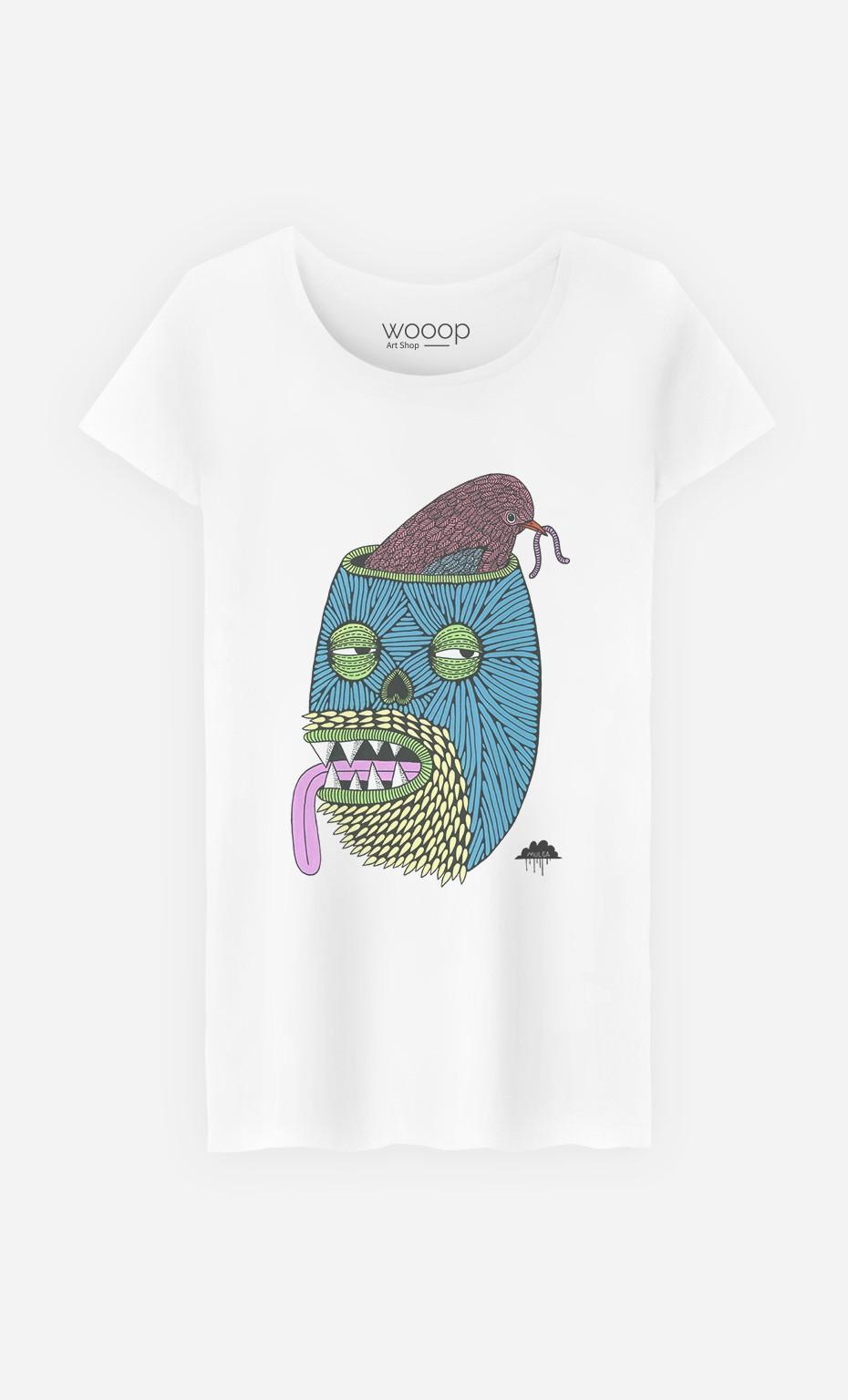 T-Shirt Femme Bird Brain