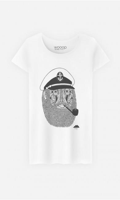 T-Shirt Femme Captain Monkey