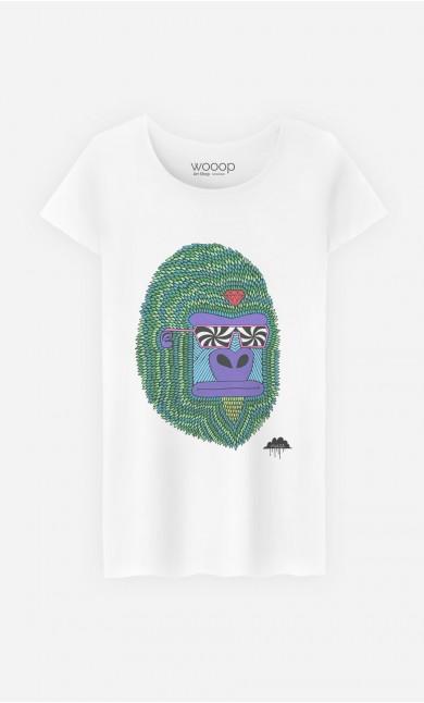 T-Shirt Femme Hypno Ape