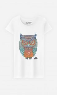 T-Shirt Femme Ollie The Owl