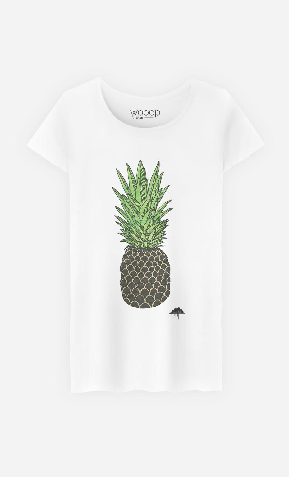 T-Shirt Femme Pineapple