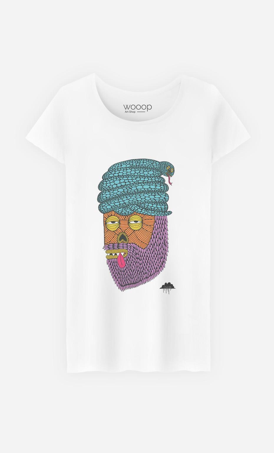 T-Shirt Femme Snake Turban