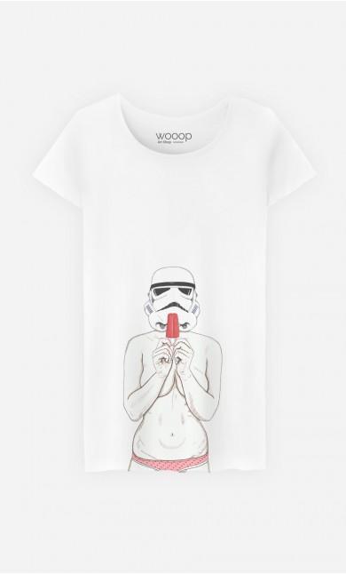 T-Shirt Femme Popsicle Trooper