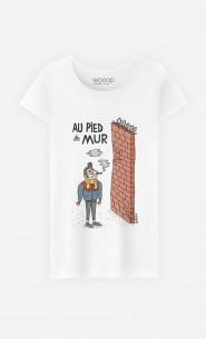 T-Shirt Femme Au Pied Du Mur