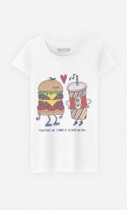 T-Shirt Femme Fast Love