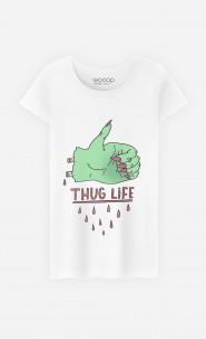 T-Shirt Femme Thug Life