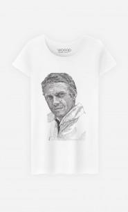 T-Shirt Femme Steve McQueen