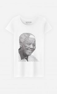 T-Shirt Femme Nelson Mandela