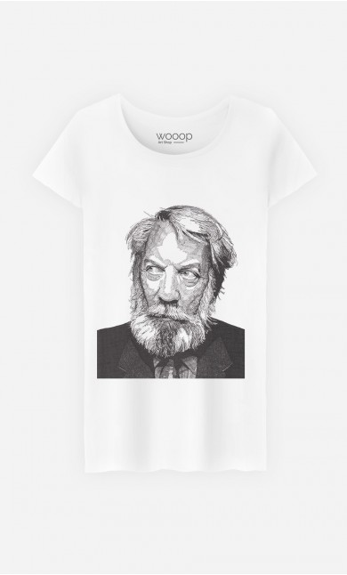 T-Shirt Femme Donald Sutherland