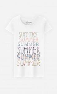 T-Shirt Femme Summer