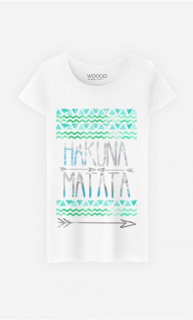 T-Shirt Femme Fun Hakuna Matata