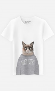 T-Shirt Homme Grumpy Cat