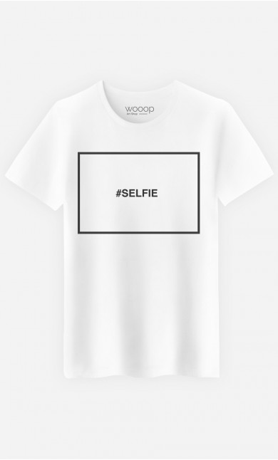 T-Shirt Hashtag Selfie