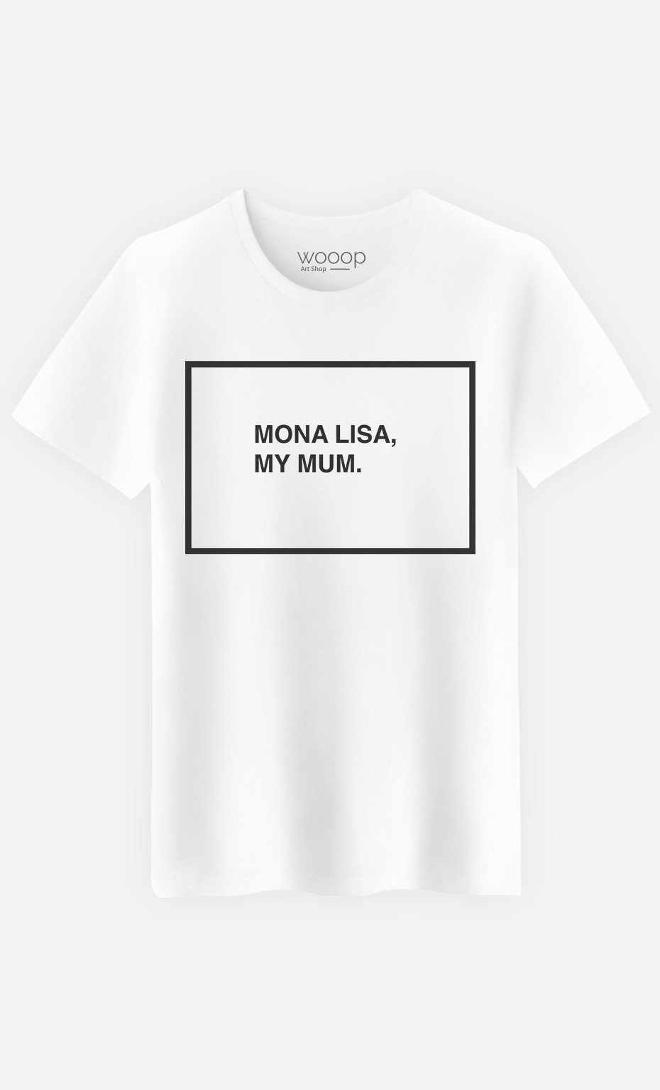 T-Shirt Homme Mona Lisa My Mum