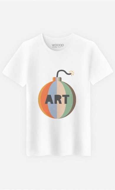 T-Shirt Homme Art Bomb