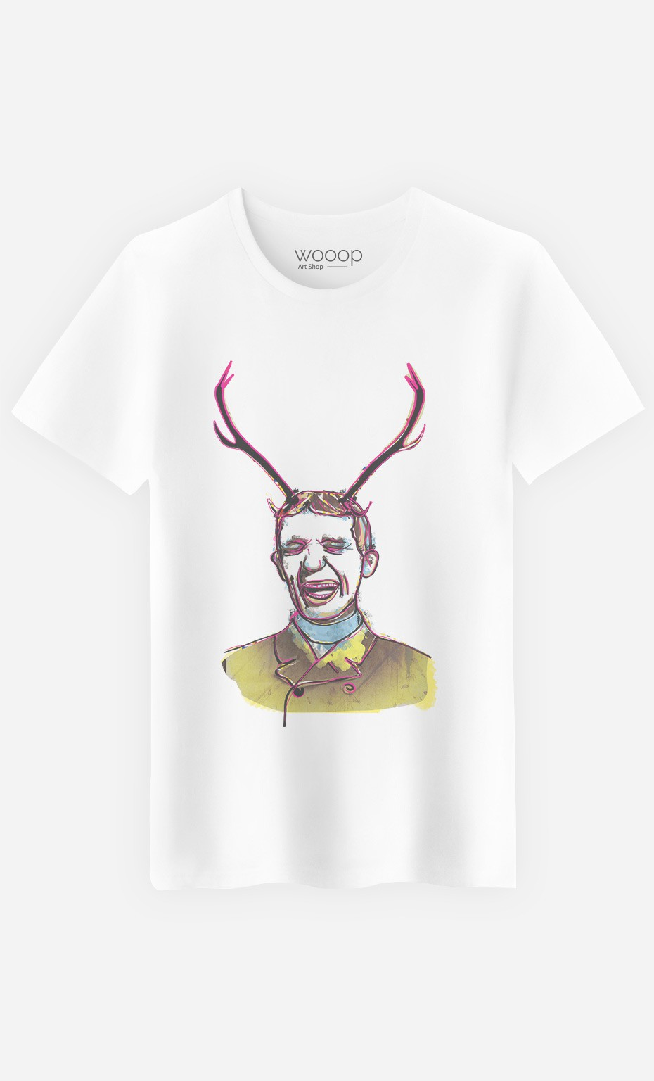 T-Shirt Homme Deer Man