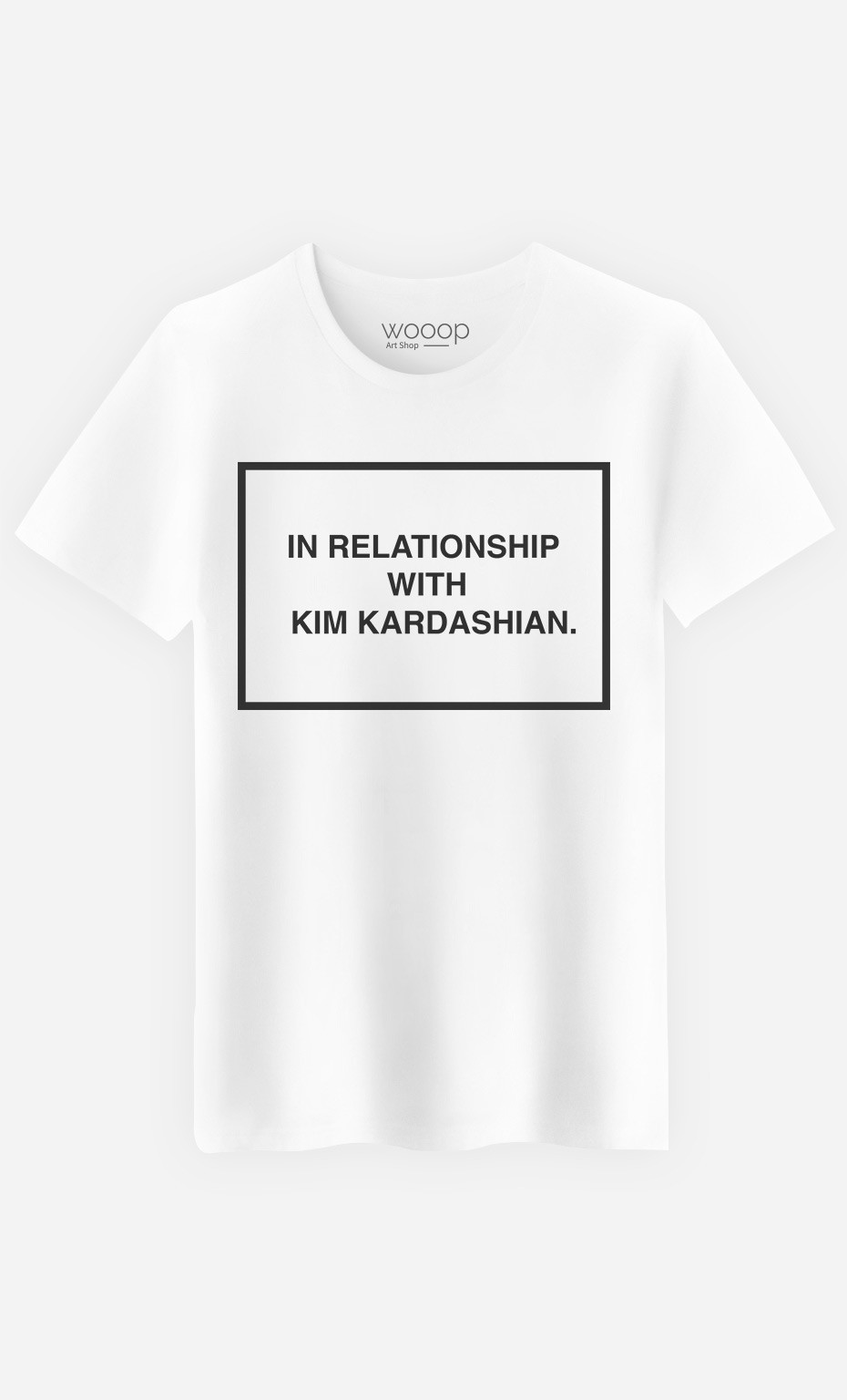T-Shirt Homme With Kim Kardashian