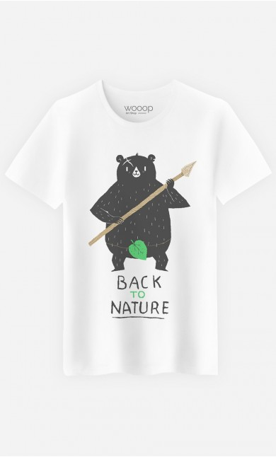 T-Shirt Homme Back to Nature