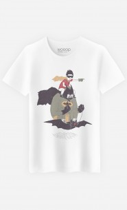 T-Shirt Homme Batman & Robin