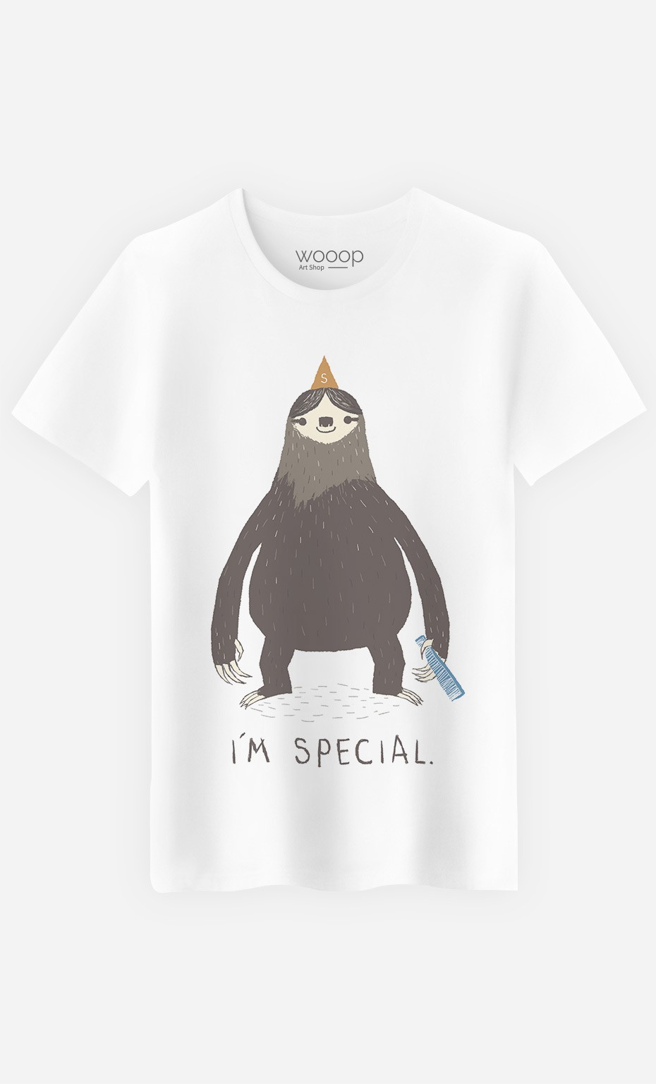 T-Shirt Homme Sloth Light