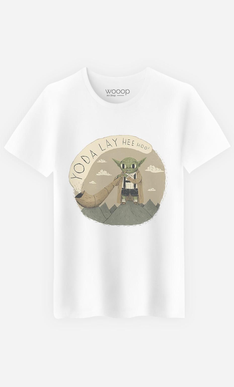 T-Shirt Homme Yoda Layheehoo