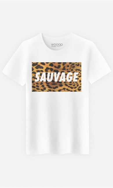 T-Shirt Homme Sauvage