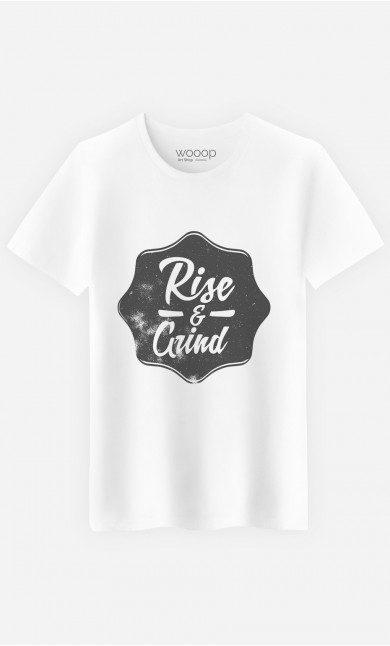 T-Shirt Homme Rise & Grind