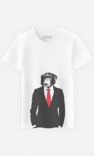 T-Shirt Homme Business Monkey