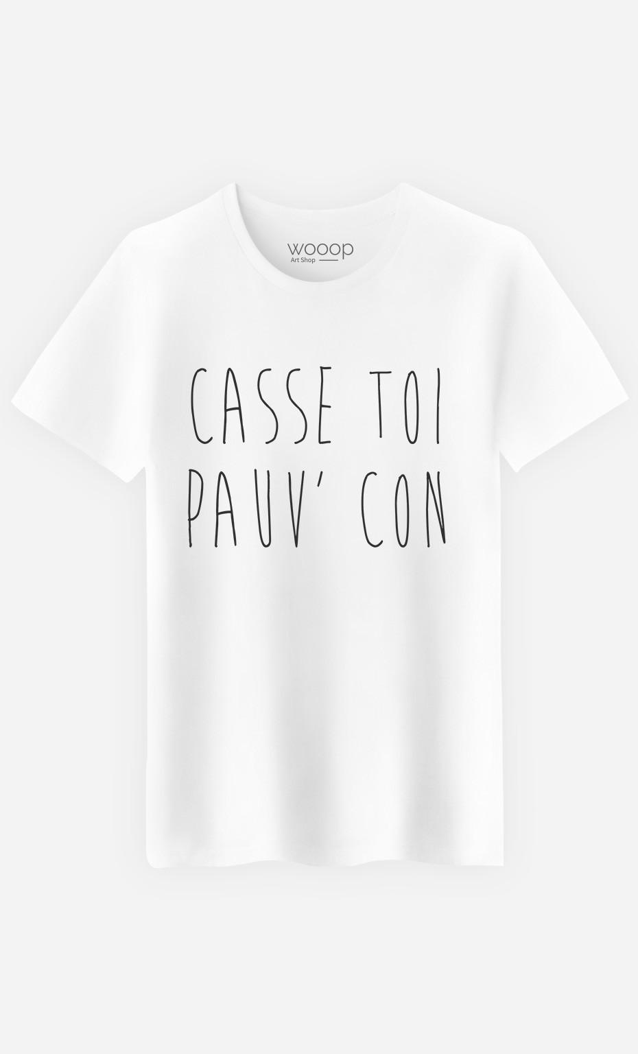 T-Shirt Homme Casse Toi
