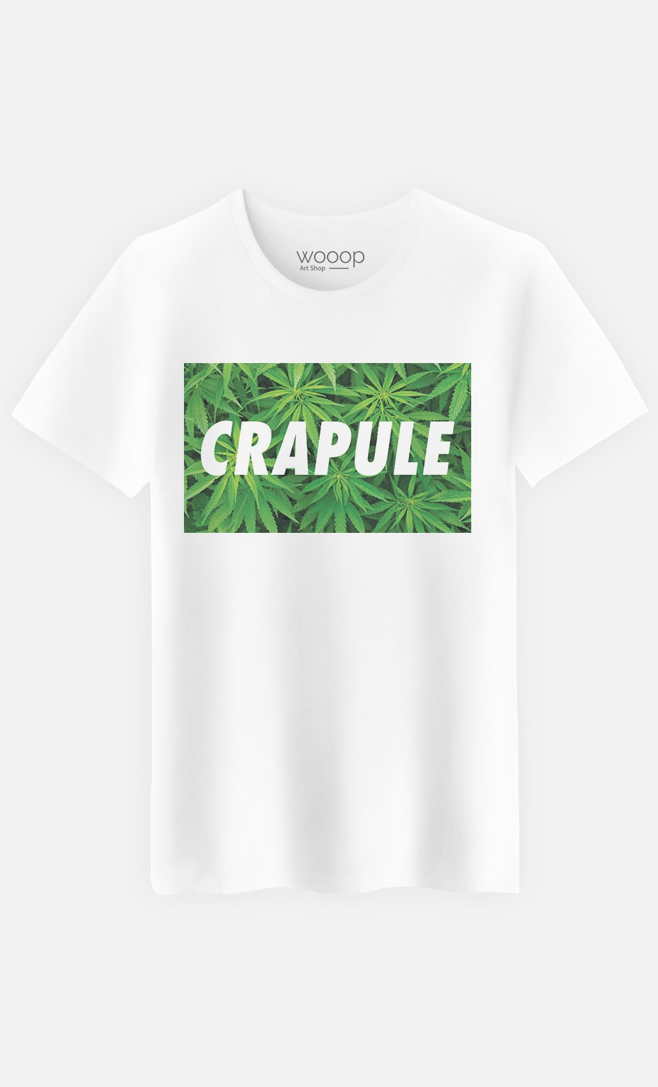 T-Shirt Homme Crapule Weed