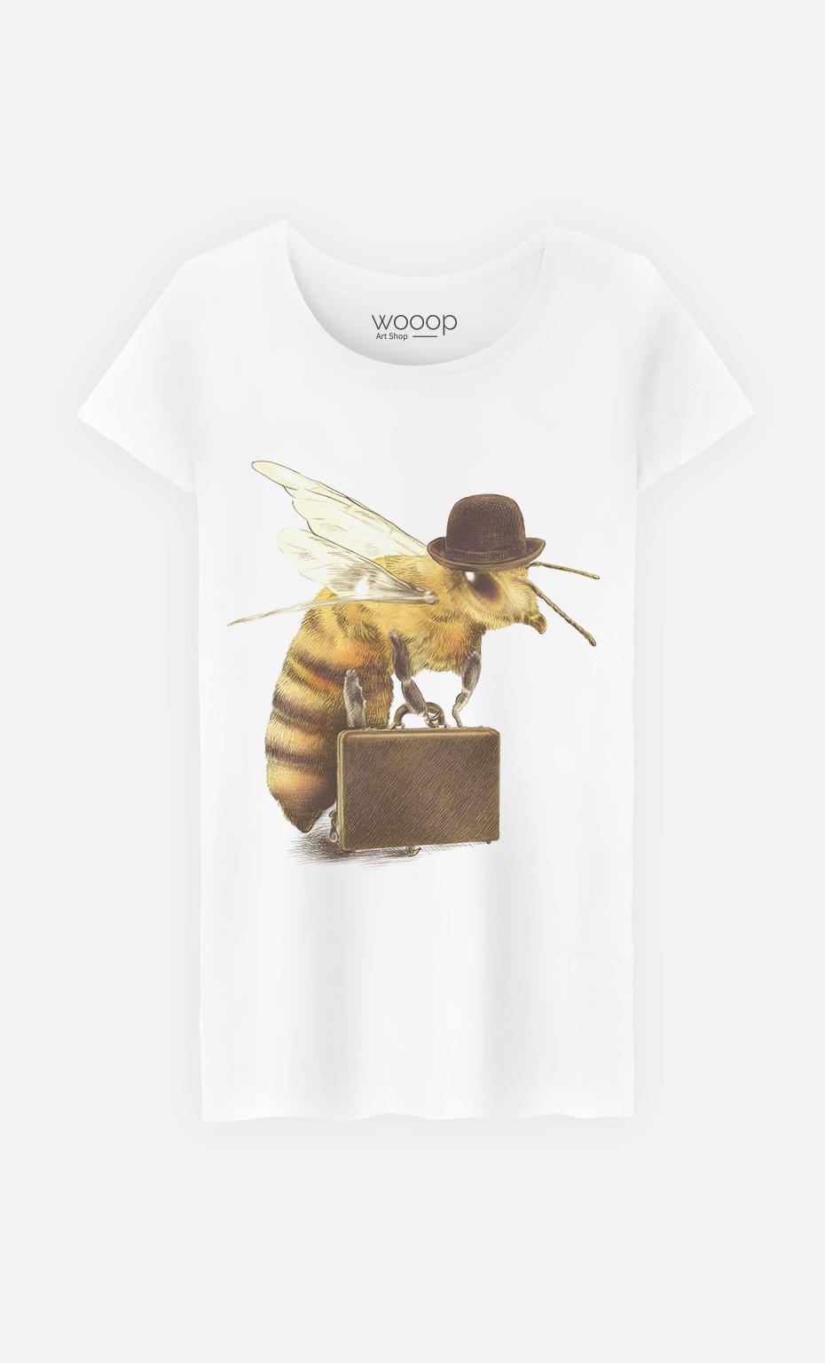 T-Shirt Femme Worker Bee